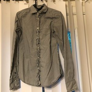 👚 AMERICAN EAGLE OUTFITTERS button down blouse